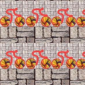 Knitcycle Hits the Bricks
