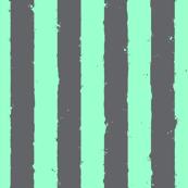 distress stripe gray mint