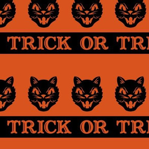 Trick or Treat ~ Cats (Orange variant ~ no.1)