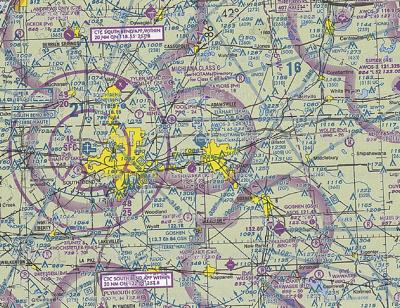 Aviation VFR Map