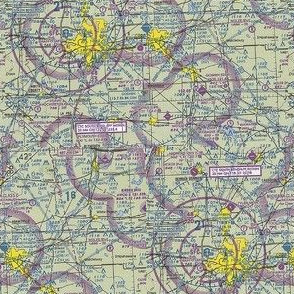 Aviation VFR Map