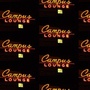 Neon Sign-Campus Lounge