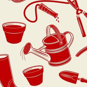 Gardening Tools ~ Red