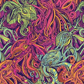 Octopus Stripe by Adam Dennis