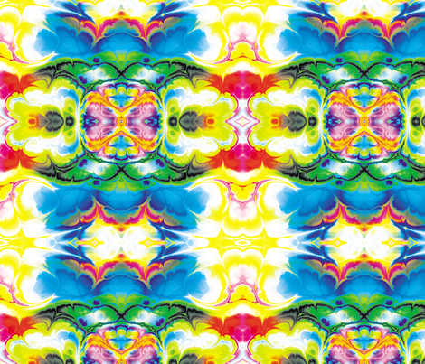 Fractal 5 fabric by animotaxis on Spoonflower - custom fabric