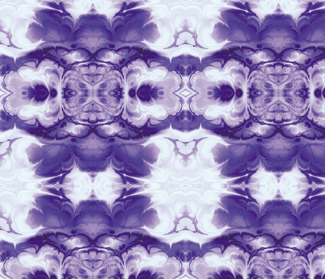 Fractal 7 fabric by animotaxis on Spoonflower - custom fabric
