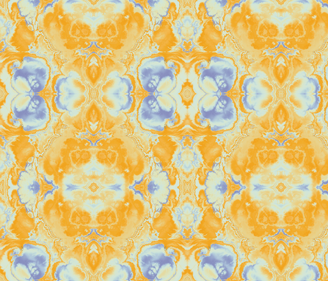 Fractal 9 fabric by animotaxis on Spoonflower - custom fabric