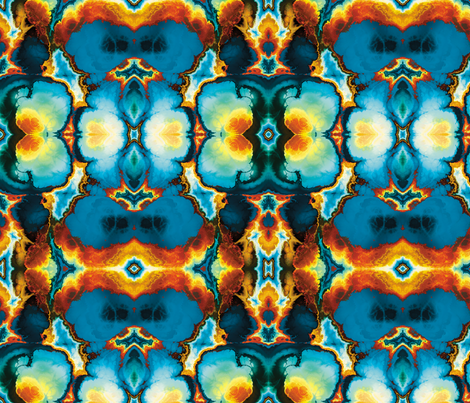 Fractal 11 fabric by animotaxis on Spoonflower - custom fabric