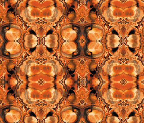 Fractal 12 fabric by animotaxis on Spoonflower - custom fabric