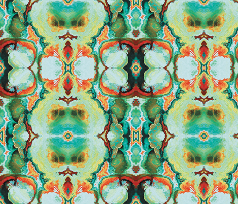 Fractal 13 fabric by animotaxis on Spoonflower - custom fabric