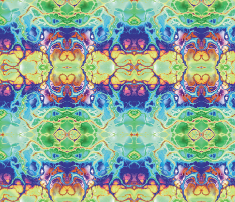Fractal 17 fabric by animotaxis on Spoonflower - custom fabric
