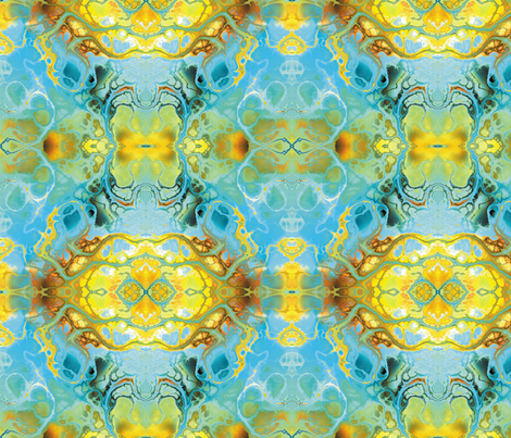 Fractal 21 fabric by animotaxis on Spoonflower - custom fabric