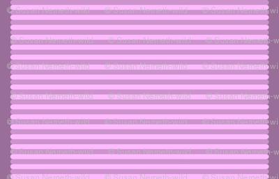 Striped Violet Sweets Cafe