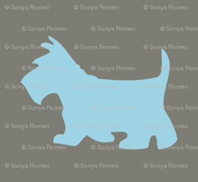 Scotty Dog Rustic