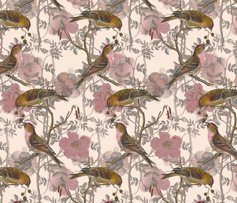 Birdwatching fabric by miart on Spoonflower - custom fabric