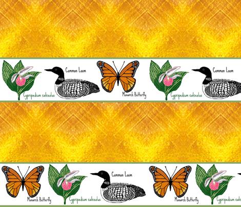 urban nature fabric by paragonstudios on Spoonflower - custom fabric