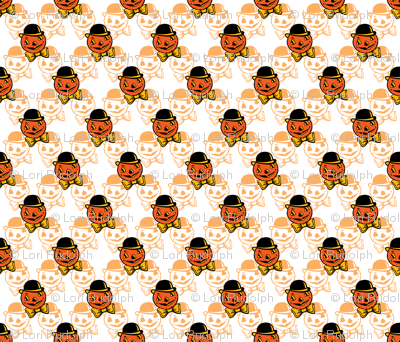 Dapper Pumpkin ~ Orange Variant