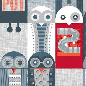Tin Pot Owl-Bot