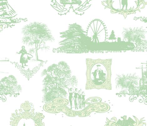 toile de hambourg fabric by loki_and_lamb on Spoonflower - custom fabric