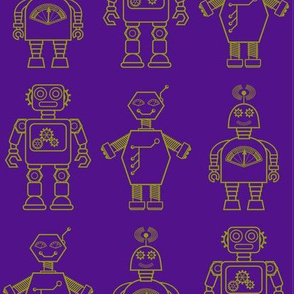 Robot coordinates - bit bots - purple
