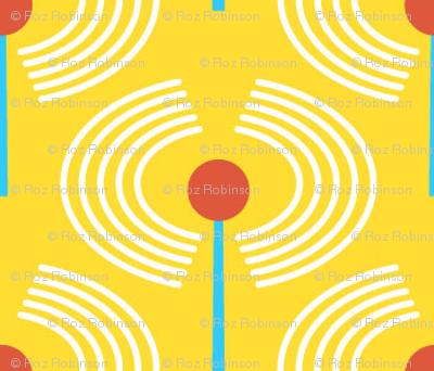 Robot coordinates - antennae - yellow