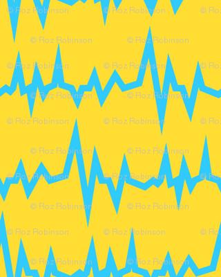 Robot coordinates - electricity - yellow