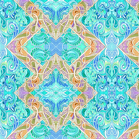 Pastel Seas fabric by edsel2084 on Spoonflower - custom fabric