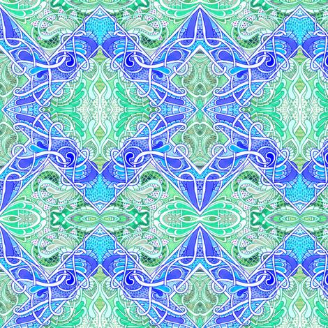 Tangled Diamonds fabric by edsel2084 on Spoonflower - custom fabric