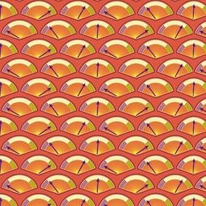 Robot coordinates - dials - orange