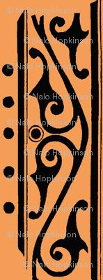 tangerine scroll