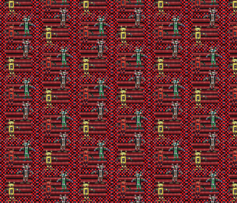 we_are_the_robots_2 fabric by vinkeli on Spoonflower - custom fabric
