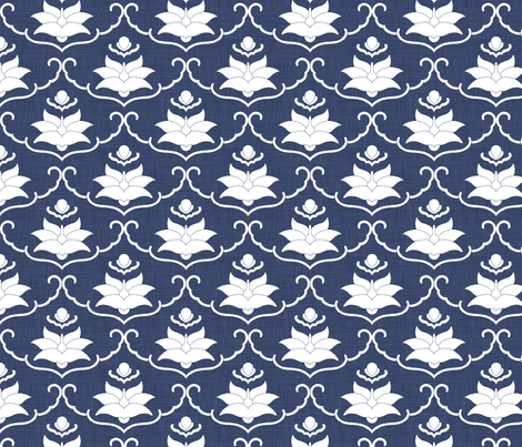 delft_daquiri fabric by holli_zollinger on Spoonflower - custom fabric