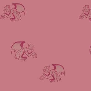 Mono-Pink  Gargoyles