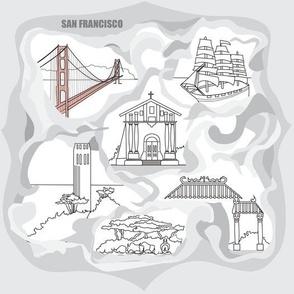 San Francisco Toile