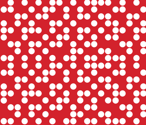 red_dots fabric by holli_zollinger on Spoonflower - custom fabric