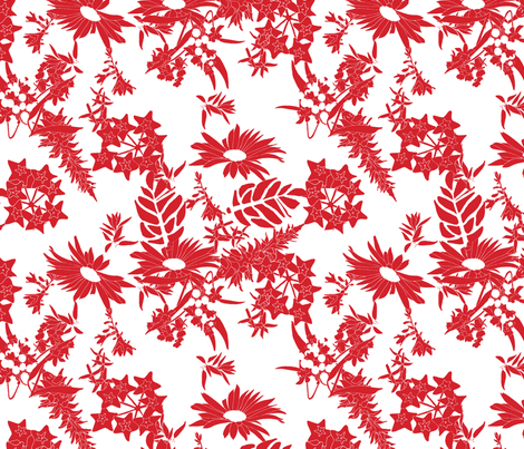 red_new_toile fabric by holli_zollinger on Spoonflower - custom fabric