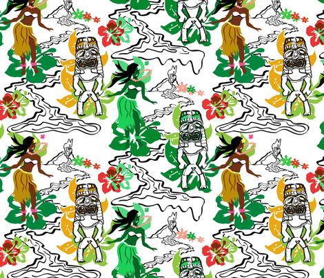 hawaii_textileFunky fabric by mimg on Spoonflower - custom fabric