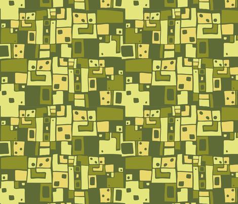 LaraGeorgine_Art_Deco_4_Color_3 fabric by larageorgine on Spoonflower - custom fabric