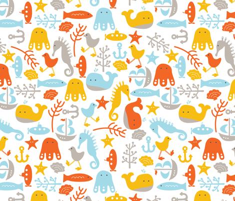 nautical_baby fabric by muffin_grayson on Spoonflower - custom fabric