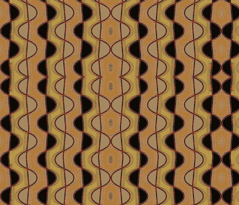 Clay Cobra fabric by david_kent_collections on Spoonflower - custom fabric