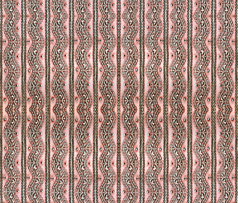 vintage pink trim. fabric by whimzwhirled on Spoonflower - custom fabric