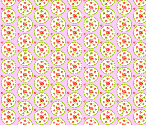 Spring flowers fabric by rosapomposa on Spoonflower - custom fabric