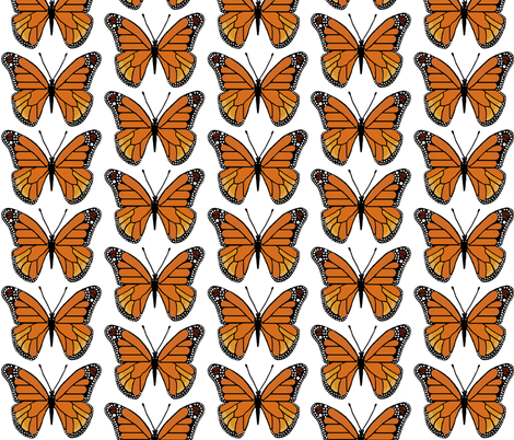 butterfly  fabric by paragonstudios on Spoonflower - custom fabric