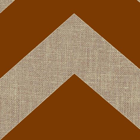 chevron burlap / cafe mocha fabric by paragonstudios on Spoonflower - custom fabric