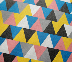 Bubblegum Triangles || geometric chevron arrows