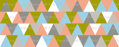 TV Triangles || geometric chevron arrows