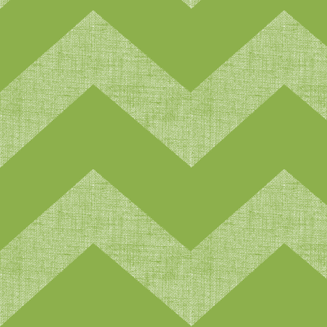 chevron burlap / green tomato  fabric by paragonstudios on Spoonflower - custom fabric