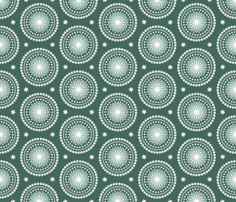 Bandana* (Statue of Liberty) || scarf handkerchief stars starburst circles flowers fireworks geometric mandala fabric by pennycandy on Spoonflower - custom fabric