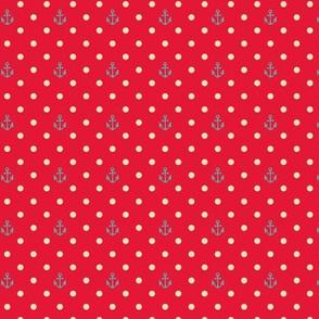 RED - PIN DOT - ANCHOR