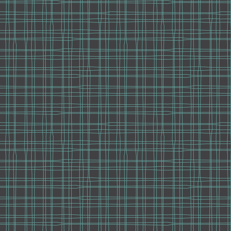 CHARCOAL - PLAID fabric by sailormouth on Spoonflower - custom fabric